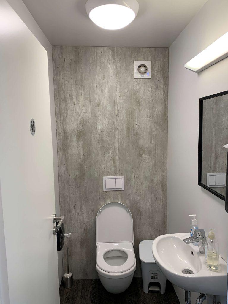 アイスランド バブルホテル トイレ