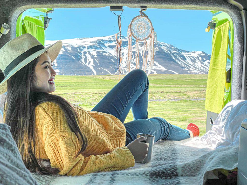 van life アイスランド